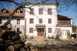 A Malom épülete tavasszal, fotó: Fülöp Dániel Mátyás, 24.hu