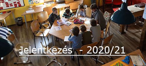 Jelentkezés 2020/21